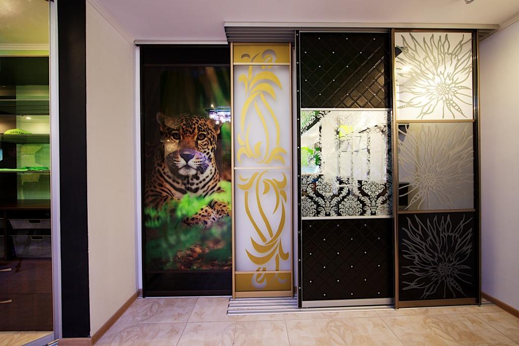 Декор дверей-купе
